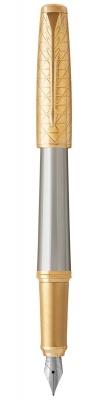 1931571 Перьевая ручка Parker Urban Premium Aureate Powder GT, F313, Fblack