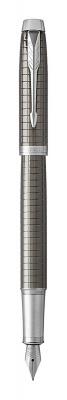 1931681 Перьевая ручка Parker  IM Premium Dark Espresso Ciselled CT