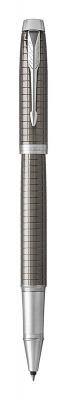 1931682 Ручка роллер Parker Parker  IM Premium Dark Espresso Ciselled CT