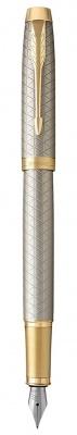1931684 Перьевая ручка Parker IM Premium Warm Silver (grey)  GT