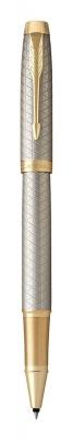 1931686 Ручка роллер Parker IM Premium Warm Silver (grey)  GT