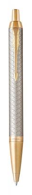 1931687 Шариковая ручка Parker IM Premium Warm Silver (grey)  GT