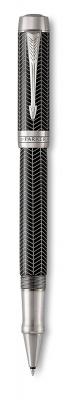 1945416 Ручка-роллер Parker Duofold Prestige Centennial, Black Chevron CT