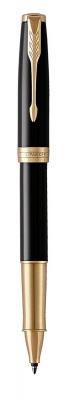 1948080 Ручка роллер Parker Sonnet , Lacquer Deep Black GT