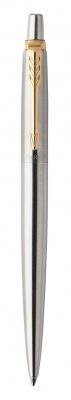 1953182 Шариковая ручка Parker Jotter Essential, St. Steel GT, стержень: Mblue