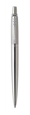 1953197 Шариковая ручка Parker Jotter Premium, Stainless Steel Diagonal CT, стержень: Mblue