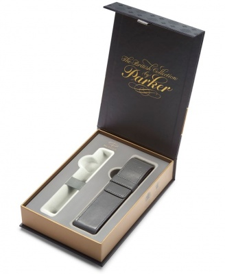 1978418 Подарочная коробка Parker с серым чехлом под ручку