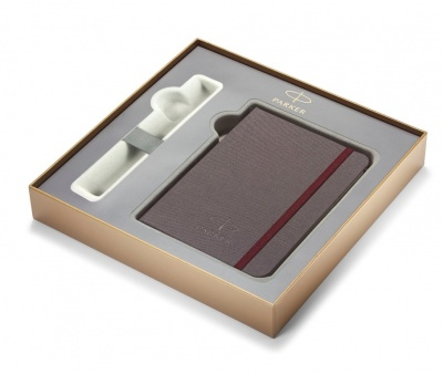 1978419 Подарочная коробка Parker с фирменной записной книжкой