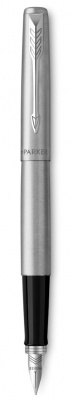 S0161590,S0705520 Перьевая ручка Parker Jotter Steel F61, цвет: Steel, перо: M
