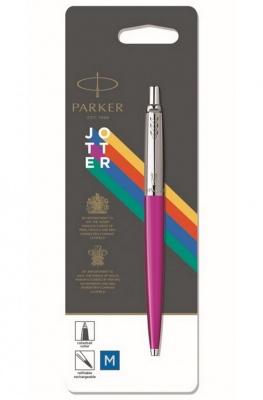2075996 Шариковая ручка Parker Jotter ORIGINALS MAGENTA, стержень: Mblue УПАКОВКА БЛИСТЕР