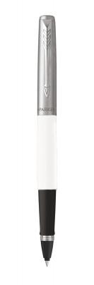R2096908 Ручка-роллер Parker Jotter Original T60 White СT ( чернила черные) в подарочной коробке