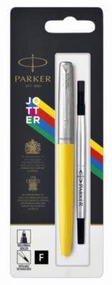 2096890 Ручка-роллер Parker Jotter ORIGINALS YELLOW CT ( чернила черные), стержень: F  В БЛИСТЕРЕ