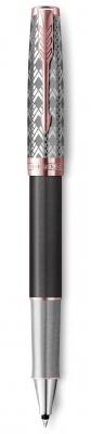 2119790 Ручка-роллер Parker Sonnet Premium Refresh GREY, цвет чернил Fblack, в подарочной упаковке