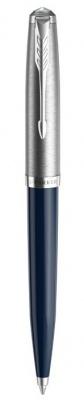 2123503 Шариковая ручка Parker 51 CORE MIDNIGHT BLUE CT, цвет чернил черный