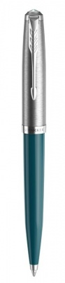 2123508 Шариковая ручка Parker 51 CORE TEAL BLUE CT, цвет чернил черный