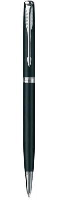 S0818170 Шариковая ручка Parker Sonnet Slim K429, цвет: MattBlack CT,  стержень: Mblack
