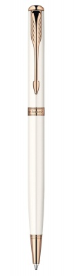 S0947400 Шариковая ручка Parker Sonnet`11 Slim K440 Pearl , цвет: жемчужный, стержень: Mblack