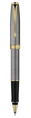 S0808160 *Ручка-роллер Parker Sonnet Т534, цвет: Cisele (серебро 925 пробы, 17.85), стержень: Fblack
