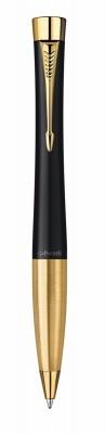 S0767040 Шариковая  ручка Parker Urban K200, цвет: Muted Black GT