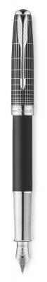 1930256 Перьевая ручка Sonnet Special Edition Contort Black Cisele