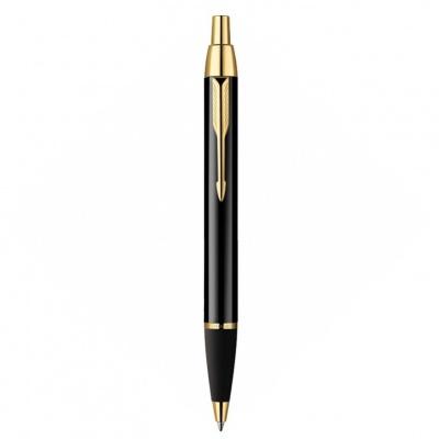 S0856440 Шариковая ручка Parker IM Metal, K221, цвет: Black GT, стержень: Mblue
