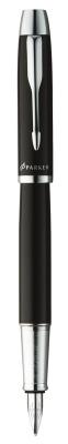 S0856180,S0856270 Перьевая ручка Parker IM Metal, F221, цвет: Black CT, перо : F