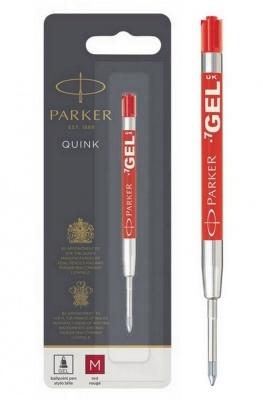 1950345,S0881270 Cтержень гелевый  Parker Gel Pen Refill M, размер: средний, цвет: красный