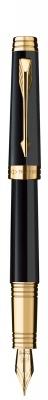 S0887810,S0887820 Перьевая ручка Parker Premier Lacque F560, цвет: Black GT