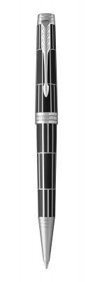 PR20B-BLK8C Parker Premier. Шариковая ручка Parker Premier Luxury, K565, Black PT, MBlack