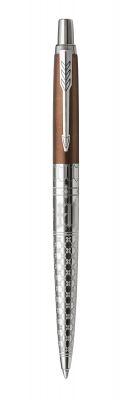 2025826 Шариковая ручка Parker Jotter K175 London Architecture Gothic Bronze, стержень: Mblue