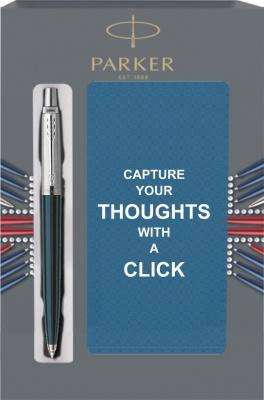 S0705660Cover1 Подарочный набор с блокнотом и Шариковая ручка Parker Jotter Black CT