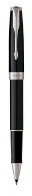 S0808820 Ручка-роллер Parker Sonnet T530, цвет: LaqBlack СT,  стержень: Fblack