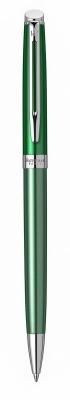 2118284 Шариковая ручка Waterman Hemisphere French riviera CHATEAU VERT в подарочной коробке