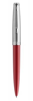 2100326 Шариковая ручка Waterman Embleme, цвет: RED CT, стержень: Mblue