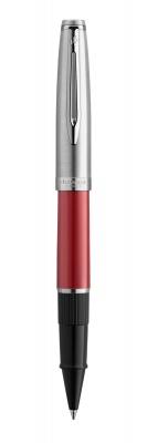 2100325 Ручка роллер Waterman  Embleme цвет RED CT, цвет чернил: черный