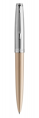 2103038 Шариковая ручка Waterman Embleme, цвет: GOLD CT, стержень: Mblue