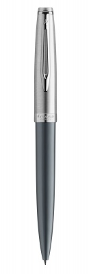 2103042 Шариковая ручка Waterman Embleme, цвет: GREY CT, стержень: Mblue