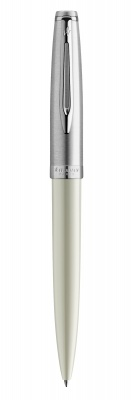 2100330 Шариковая ручка Waterman Embleme, цвет: IVORY CT, стержень: Mblue