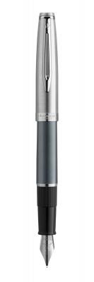 2103040 Перьевая ручка Waterman  Embleme цвет GREY CT, цвет чернил: черный