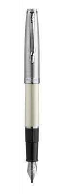 2100327 Перьевая ручка Waterman  Embleme цвет IVORY CT, цвет чернил: черный