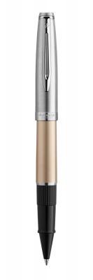 2103037 Ручка роллер Waterman  Embleme цвет GOLD CT, цвет чернил: черный