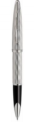 S0909870 Ручка-роллер Waterman Carene Essential, цвет: Silver ST, стержень: Fblack