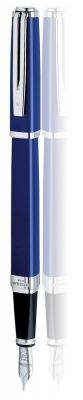 WT6F-BLU2C Waterman Exception. Перьевая ручка Waterman Exception, цвет: Slim Blue ST, перо: M (FM)