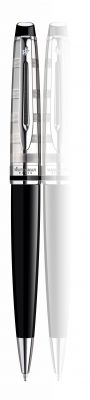 S0952360 Шариковая ручка Waterman Expert 3 DeLuxe, цвет: Black CT, стержень: Mblu