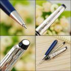 1904593 Waterman Expert Шариковая ручка  Deluxe, цвет: Blue CT Obssesion