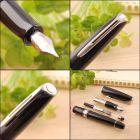 S0701030 Waterman Charleston *Перьевая ручка, цвет: Black/CT, перо: F (13011 F)
