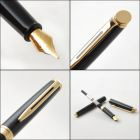 S0920610 Waterman Hemisphere Перьевая ручка, цвет: Mars Black/GT, перо: F