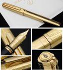 S0729000, S0728990 Waterman Exception Перьевая ручка   Solid Gold, цвет: Gold (золото),  перо: M, перо: золото 18К