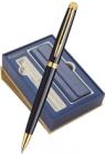S0920670CoverNew Waterman Hemisphere Подарочный набор с чехлом и шариковой ручкой    Mars цвет: Black GT